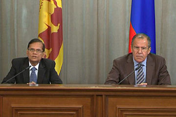 Сближение  позиций России и Шри-Ланки