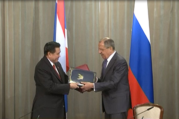 Foreign Minister Sergey Lavrov's statement and answers to media questions at a joint news conference following talks with Deputy Prime Minister and Foreign Minister of the Kingdom of Thailand Tanasak Patimapragorn, Moscow, July 16, 2015