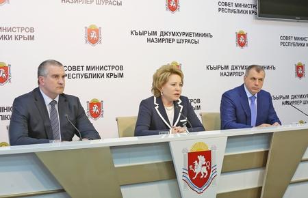 В.Матвиенко: Переходный период интеграции Крыма завершен, но за один год решить все вопросы нельзя