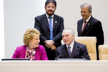 Парламенты России и Бразилии: сотрудничество привилегированного партнерства