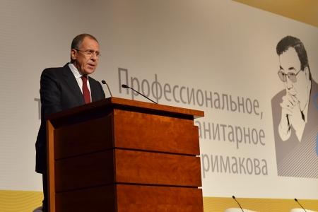 Выступление Министра иностранных дел России С.В.Лаврова на первых «Чтениях памяти Е.М.Примакова», Москва, 29 октября 2015 года