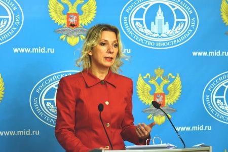 Мария Захарова: «Терроризм – общая проблема всего человечества»