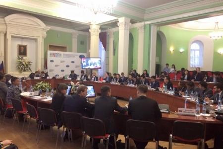 Форум молодых дипломатов стран БРИКС -2015: от эпохи гегемонии  к международному сотрудничеству