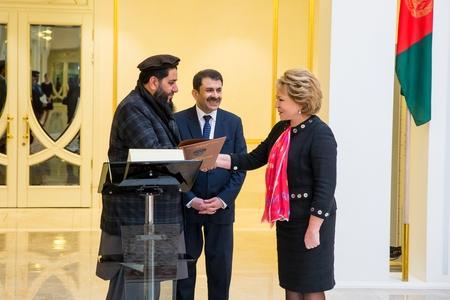 В. Матвиенко: Россия заинтересована в стабильности в Афганистане