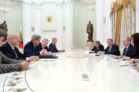 Большой переговорный день в Москве: Россия - США