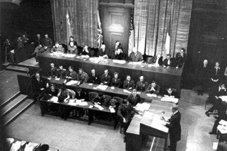 Нюрнбергский процесс:  воплощение коллективной совести человечества