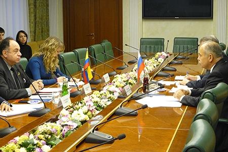 Зампред Совета Федерации РФ Ильяс Умаханов: «Наши отношения с Эквадором находятся  на подъеме»