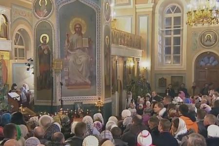 Прямая трансляция Патриаршего богослужения в Храме Христа Спасителя в честь Рождества Христова