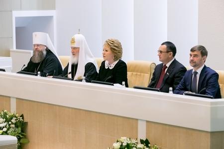 В. Матвиенко: Россия в состоянии ответить на растущий в мире запрос на традиционные ценности