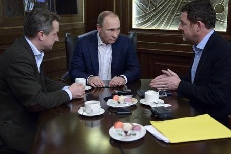 Интервью В.В.Путина немецкому изданию Bild, часть 1