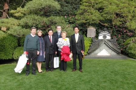 Журнал Международная жизнь - Япония чтит память русского императора
