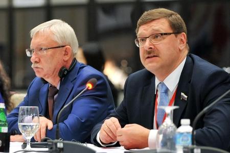 Задачи, которые ставила перед собой российская делегация на сессии АТПФ, выполнены полностью – К. Косачев