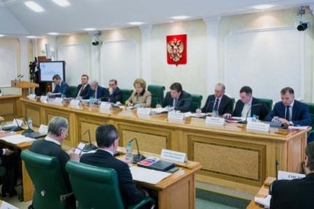 В. Матвиенко: Совет Федерации постоянно работает над улучшением  правовой базы  банковской сферы