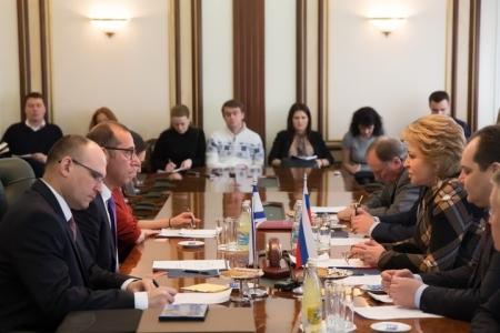 Россия и Израиль активизируют парламентские контакты