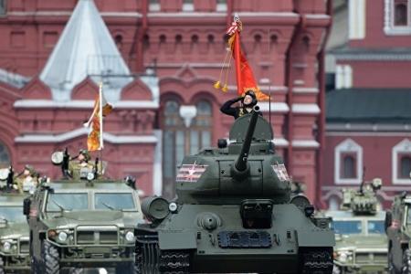 В Москве проходит парад в честь 71-й годовщины Победы
