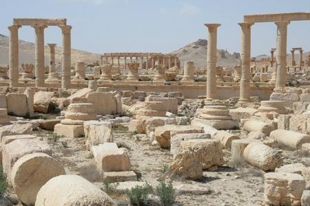 Пальмира прервала молчание об уничтожении памятников по всему миру