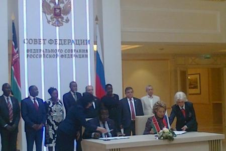 Путь России в Африку лежит через Кению?