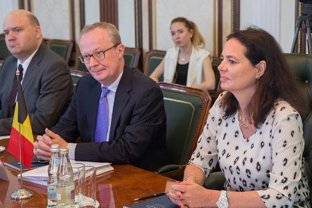 Председатели Совета Федерации и Сената Бельгии выступают за активизацию межпарламентского диалога