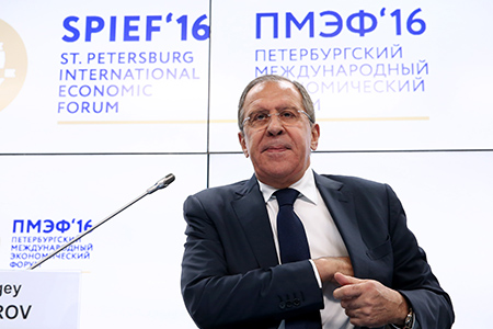 Foreign Minister Sergey Lavrov's answers to questions at the Valdai International Discussion Club's session at the St Petersburg International Economic Forum, St Petersburg, June 16, 2016