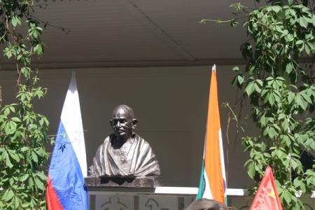 В Ясной Поляне «поселился» Махатма Ганди