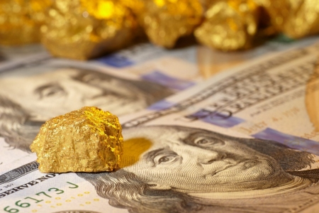 Золото vs доллар
