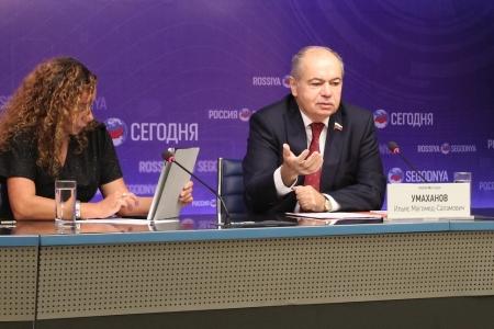 Ильяс Умаханов: «ПАСЕ без России теряет гораздо больше, чем Россия без ПАСЕ»