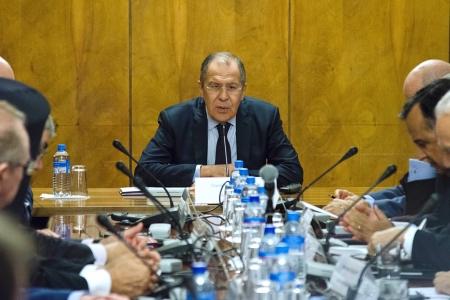 Выступление Министра иностранных дел России С.В.Лаврова на встрече с участниками конференции «Ближний Восток: тенденции и перспективы», Москва, 20 октября 2016 года