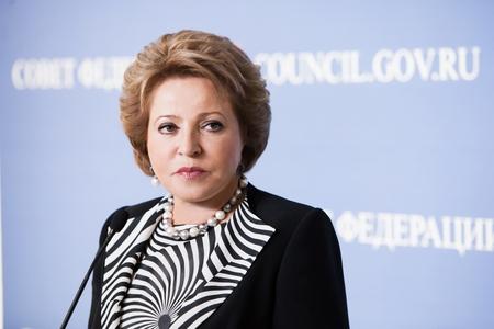 В.Матвиенко выступит на 135-й Ассамблее Межпарламентского союза в Женеве