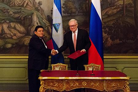 Россия и Никарагуа – за мирный космос