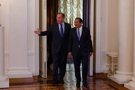 Россия и Камбоджа – за безопасность в АТР