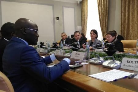 Россия и Камерун развивают двустороннее сотрудничество