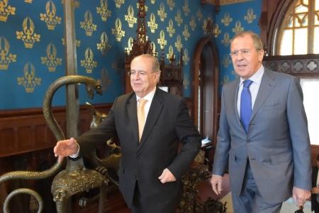 Сергей Лавров: «Мы признательны кипрским друзьям за неизменную готовность содействовать оздоровлению ситуации в Европе»