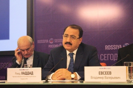 Рияд Хаддад: Мы не сядем за стол переговоров с террористами