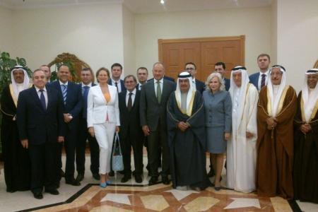Встреча представителей Республики Крым с Королем Бахрейна