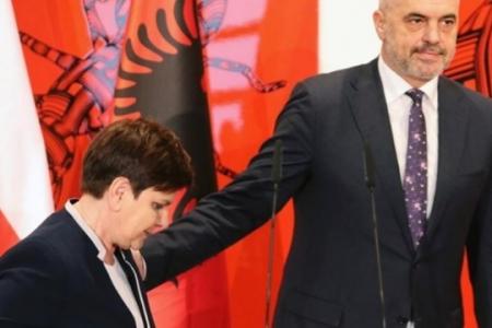 Албания в польском «Троеморье»