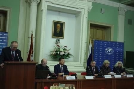 Новогоднее заседание Дипломатического клуба: шахматы как орудие мира и дипломатии