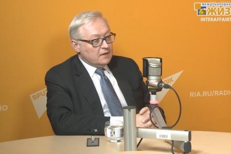 Рябков Сергей Алексеевич, Заместитель министра иностранных дел России (часть 1)