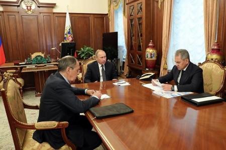 Владимир Путин: Произошло событие, которого мы так ждали и которое приближали своей работой
