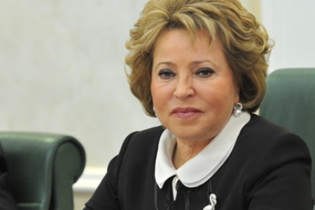 В. Матвиенко: Россия готова к диалогу с властями США по вопросам усыновления детей