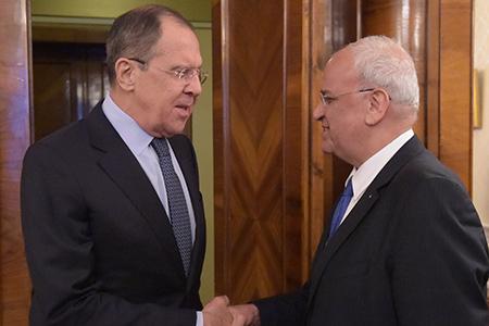 Вступительное слово Министра иностранных дел С.В.Лаврова на встрече с членом Исполкома Организации освобождения Палестины С.Орейкатом, Москва, 13 января 2017 года