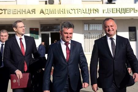 Молдова – дебют президента