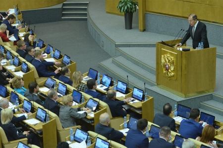 Сергей Лавров: «МИД рассматривает парламентскую дипломатию как важный ресурс в деле эффективной реализации внешнеполитического курса России»