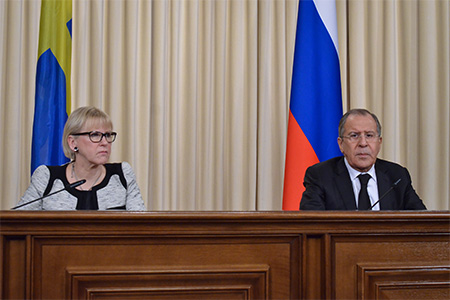 Foreign Minister Sergey Lavrov's remarks and answers to media questions during a joint news conference following talks with Swedish Minister for Foreign Affairs Margot Wallström, Moscow, February 21, 2017
