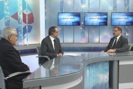 Интервью К.И. Косачева и Ж.-П. Раффарена телеканалу Вместе-РФ