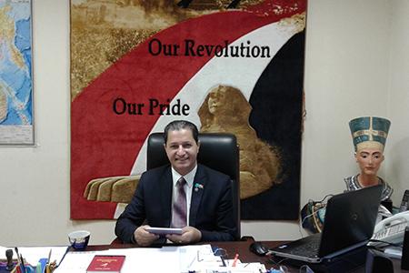 Современный Египет знает и любит Россию