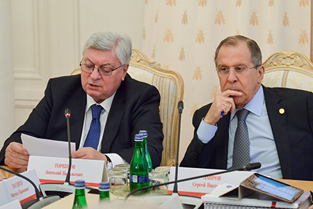 Выступление Министра иностранных дел России С.В.Лаврова в ходе совместного заседания Наблюдательного и Попечительского советов МГИМО, Москва, 13 февраля 2017 года