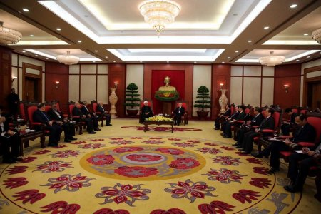 Председатель СФ встретилась с Генеральным секретарем ЦК Коммунистической партии Вьетнама
