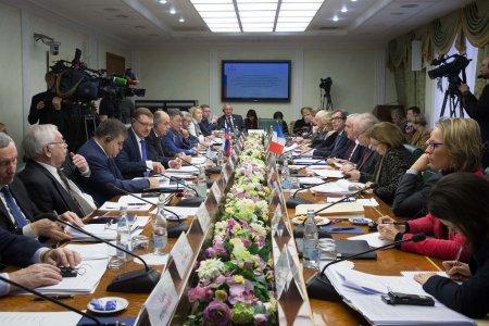 Российские и французские сенаторы на совместном заседании наметили перспективы взаимодействия
