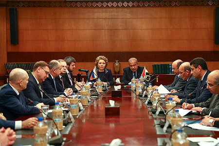 Председатель СФ и Премьер-министр Египта обсудили перспективы двустороннего экономического сотрудничества