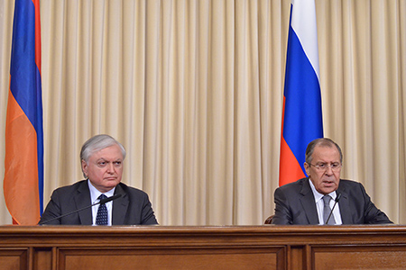 Foreign Minister Sergey Lavrov's remarks and answers to media questions at a joint news conference following talks with Foreign Minister of the Republic of Armenia Edward Nalbandian, Moscow, February 22, 2017